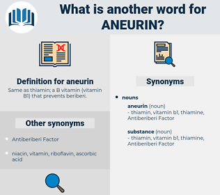 aneurin, synonym aneurin, another word for aneurin, words like aneurin, thesaurus aneurin