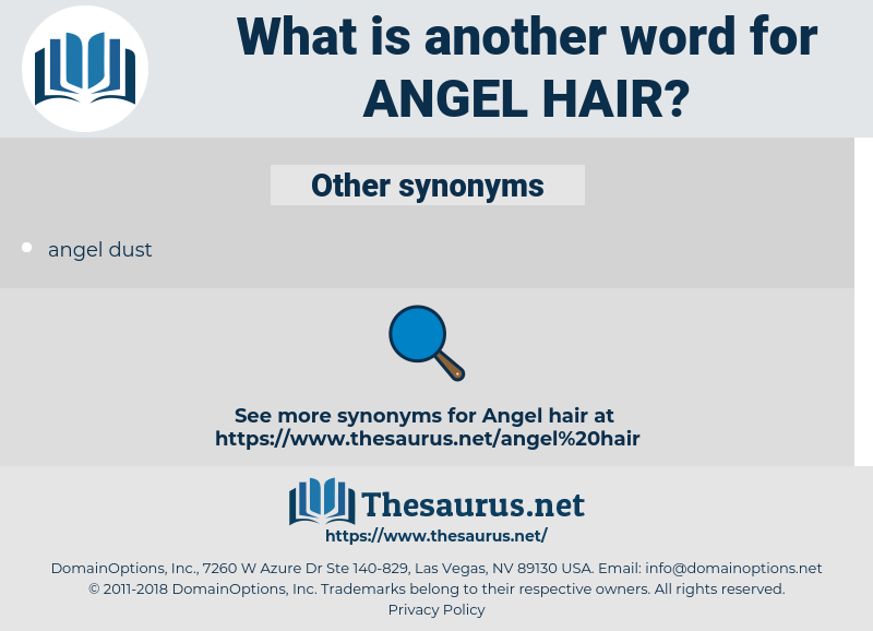 angel hair, synonym angel hair, another word for angel hair, words like angel hair, thesaurus angel hair