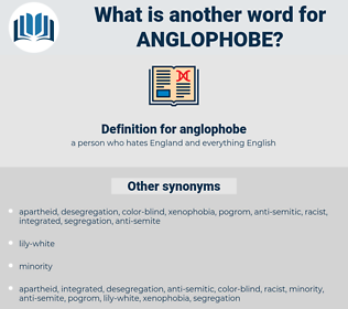 anglophobe, synonym anglophobe, another word for anglophobe, words like anglophobe, thesaurus anglophobe