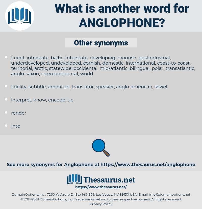 anglophone, synonym anglophone, another word for anglophone, words like anglophone, thesaurus anglophone