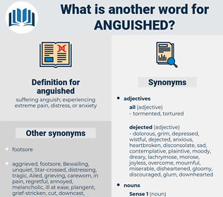 anguished, synonym anguished, another word for anguished, words like anguished, thesaurus anguished