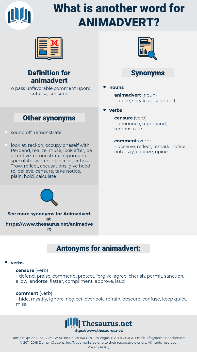 animadvert, synonym animadvert, another word for animadvert, words like animadvert, thesaurus animadvert