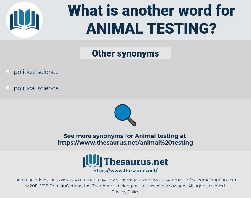 animal testing, synonym animal testing, another word for animal testing, words like animal testing, thesaurus animal testing