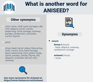 aniseed, synonym aniseed, another word for aniseed, words like aniseed, thesaurus aniseed