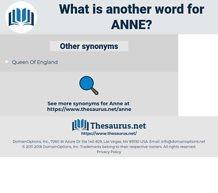 Anne, synonym Anne, another word for Anne, words like Anne, thesaurus Anne