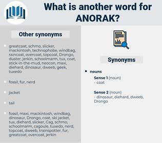 anorak, synonym anorak, another word for anorak, words like anorak, thesaurus anorak
