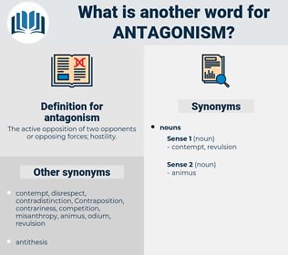 antagonism, synonym antagonism, another word for antagonism, words like antagonism, thesaurus antagonism