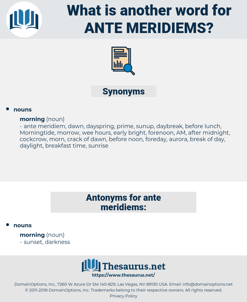 ante meridiems, synonym ante meridiems, another word for ante meridiems, words like ante meridiems, thesaurus ante meridiems