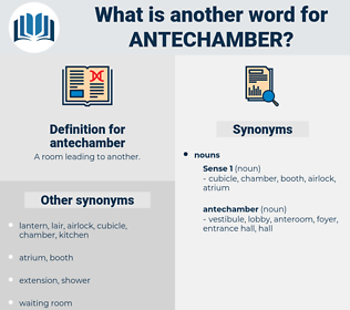 antechamber, synonym antechamber, another word for antechamber, words like antechamber, thesaurus antechamber