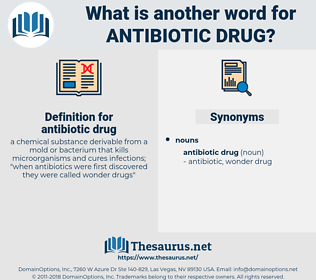 antibiotic drug, synonym antibiotic drug, another word for antibiotic drug, words like antibiotic drug, thesaurus antibiotic drug