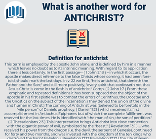 antichrist, synonym antichrist, another word for antichrist, words like antichrist, thesaurus antichrist