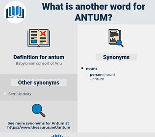 antum, synonym antum, another word for antum, words like antum, thesaurus antum