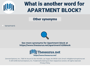 apartment block, synonym apartment block, another word for apartment block, words like apartment block, thesaurus apartment block