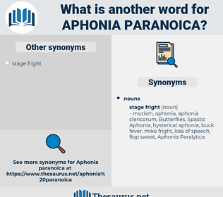 aphonia paranoica, synonym aphonia paranoica, another word for aphonia paranoica, words like aphonia paranoica, thesaurus aphonia paranoica
