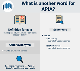 apia, synonym apia, another word for apia, words like apia, thesaurus apia