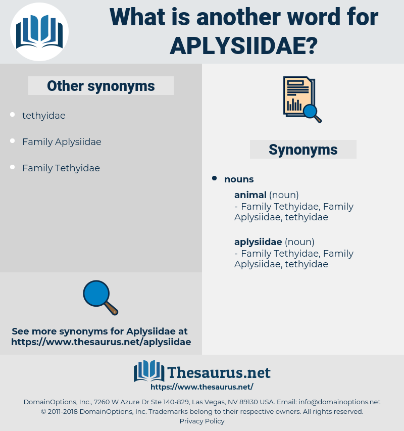 aplysiidae, synonym aplysiidae, another word for aplysiidae, words like aplysiidae, thesaurus aplysiidae