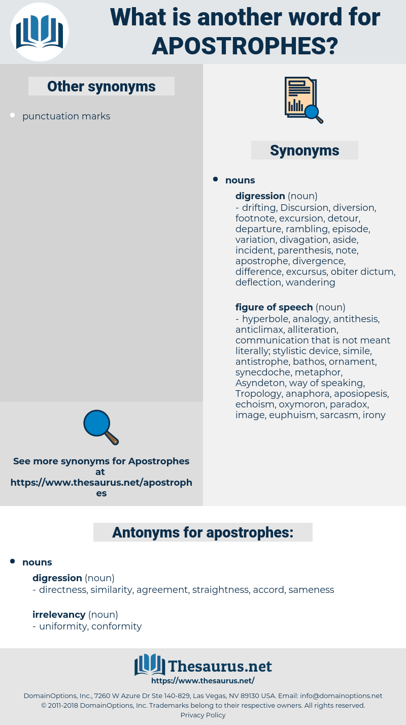 apostrophes, synonym apostrophes, another word for apostrophes, words like apostrophes, thesaurus apostrophes