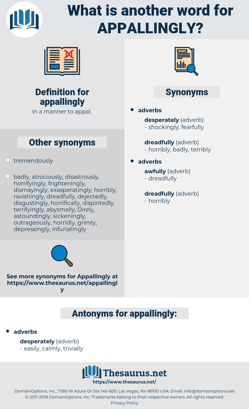 appallingly, synonym appallingly, another word for appallingly, words like appallingly, thesaurus appallingly