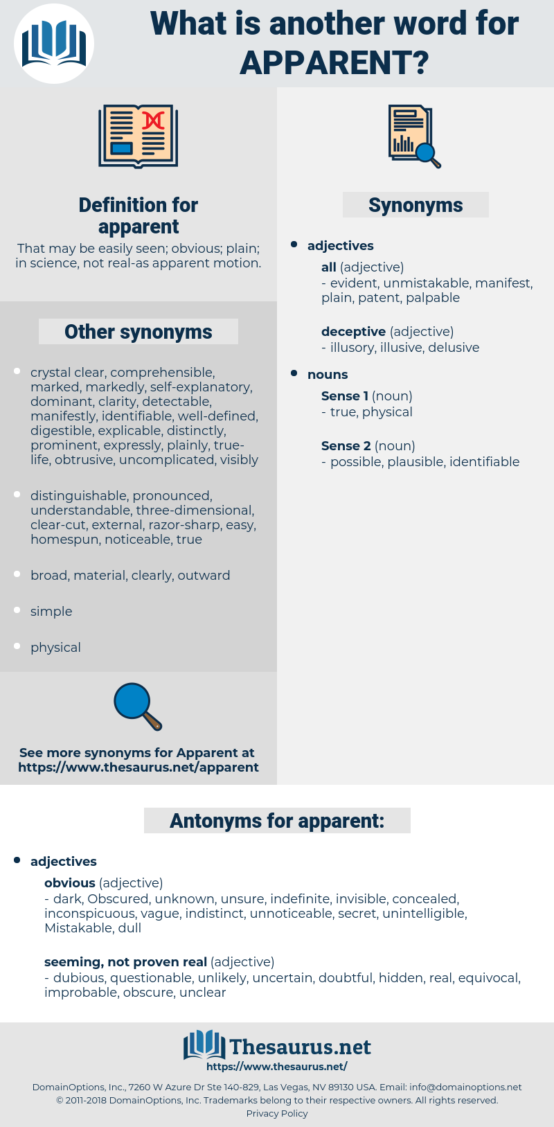 apparent, synonym apparent, another word for apparent, words like apparent, thesaurus apparent