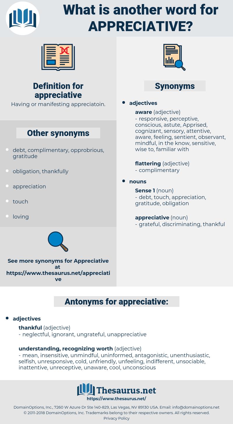 appreciative, synonym appreciative, another word for appreciative, words like appreciative, thesaurus appreciative