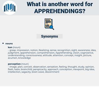 apprehendings, synonym apprehendings, another word for apprehendings, words like apprehendings, thesaurus apprehendings