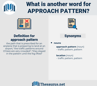 approach pattern, synonym approach pattern, another word for approach pattern, words like approach pattern, thesaurus approach pattern
