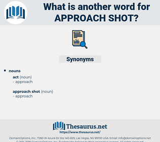 approach shot, synonym approach shot, another word for approach shot, words like approach shot, thesaurus approach shot