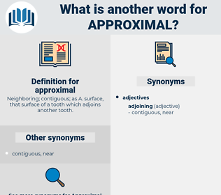 approximal, synonym approximal, another word for approximal, words like approximal, thesaurus approximal