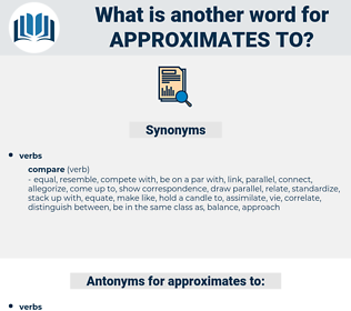 approximates to, synonym approximates to, another word for approximates to, words like approximates to, thesaurus approximates to