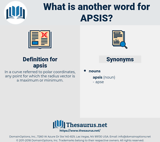 apsis, synonym apsis, another word for apsis, words like apsis, thesaurus apsis