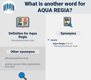 Aqua Regia, synonym Aqua Regia, another word for Aqua Regia, words like Aqua Regia, thesaurus Aqua Regia