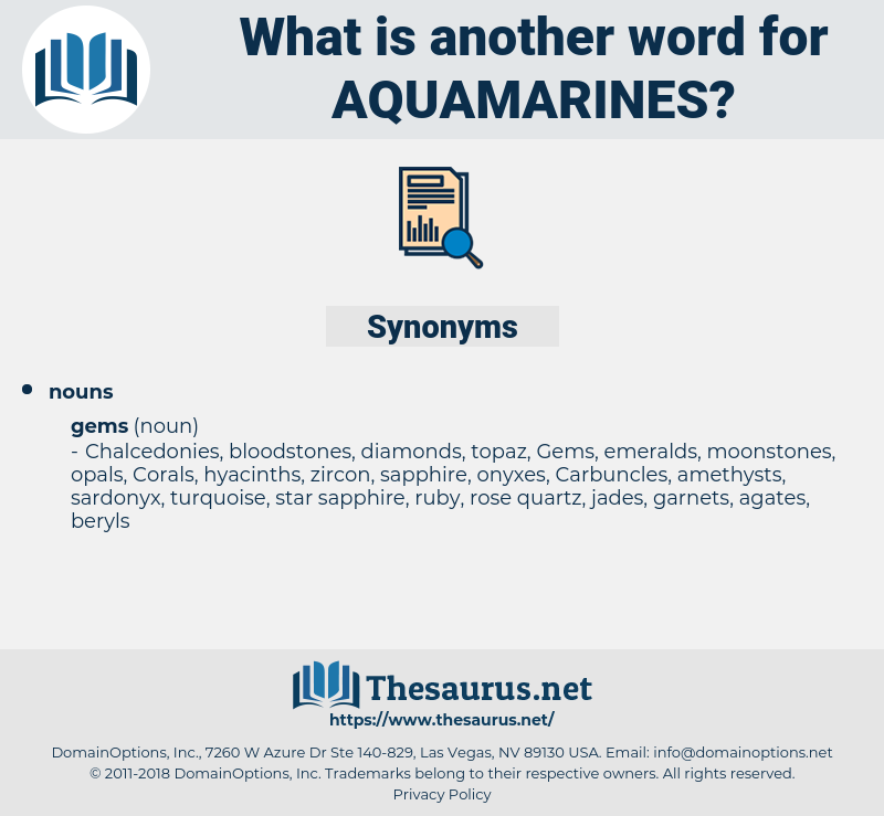 aquamarines, synonym aquamarines, another word for aquamarines, words like aquamarines, thesaurus aquamarines