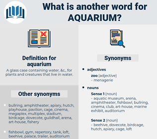 aquarium, synonym aquarium, another word for aquarium, words like aquarium, thesaurus aquarium