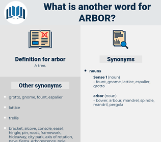 arbor, synonym arbor, another word for arbor, words like arbor, thesaurus arbor