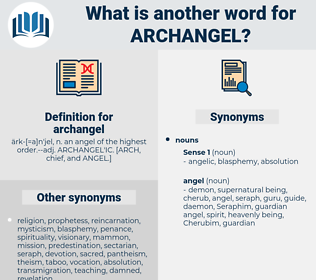 archangel, synonym archangel, another word for archangel, words like archangel, thesaurus archangel