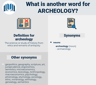 archeology, synonym archeology, another word for archeology, words like archeology, thesaurus archeology