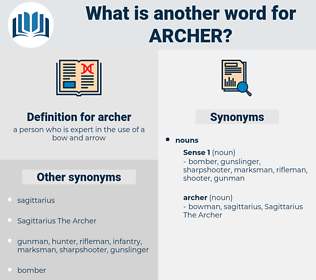 archer, synonym archer, another word for archer, words like archer, thesaurus archer