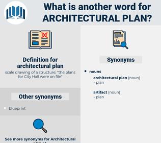 architectural plan, synonym architectural plan, another word for architectural plan, words like architectural plan, thesaurus architectural plan