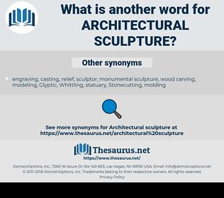 architectural sculpture, synonym architectural sculpture, another word for architectural sculpture, words like architectural sculpture, thesaurus architectural sculpture