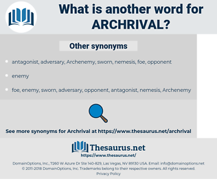 archrival, synonym archrival, another word for archrival, words like archrival, thesaurus archrival