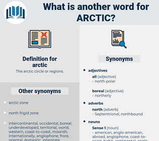 arctic, synonym arctic, another word for arctic, words like arctic, thesaurus arctic