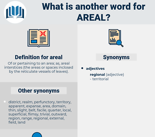 areal, synonym areal, another word for areal, words like areal, thesaurus areal