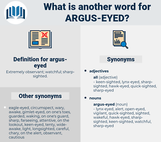 argus-eyed, synonym argus-eyed, another word for argus-eyed, words like argus-eyed, thesaurus argus-eyed