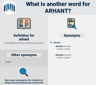 arhant, synonym arhant, another word for arhant, words like arhant, thesaurus arhant