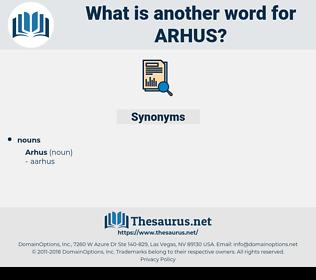 arhus, synonym arhus, another word for arhus, words like arhus, thesaurus arhus