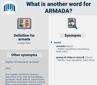 armada, synonym armada, another word for armada, words like armada, thesaurus armada