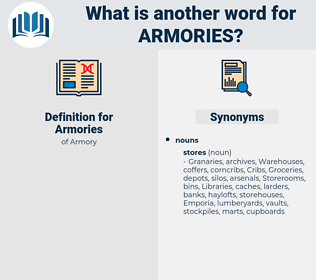 Armories, synonym Armories, another word for Armories, words like Armories, thesaurus Armories