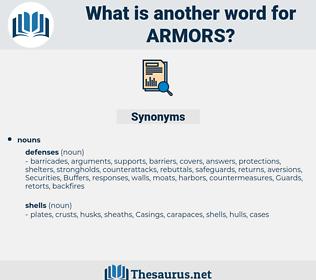 armors, synonym armors, another word for armors, words like armors, thesaurus armors