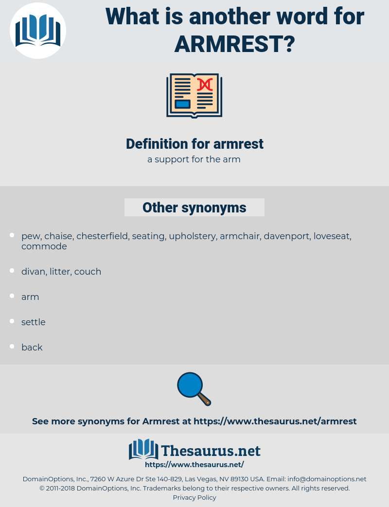 armrest, synonym armrest, another word for armrest, words like armrest, thesaurus armrest
