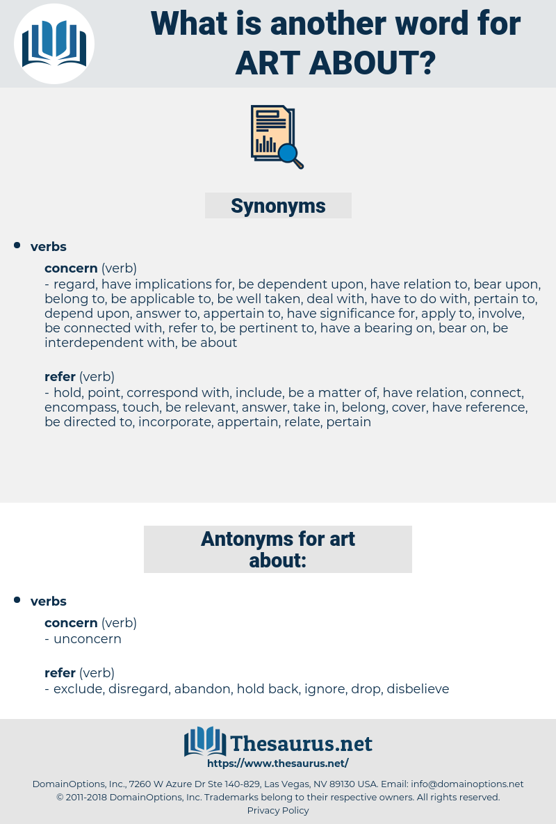 art about, synonym art about, another word for art about, words like art about, thesaurus art about